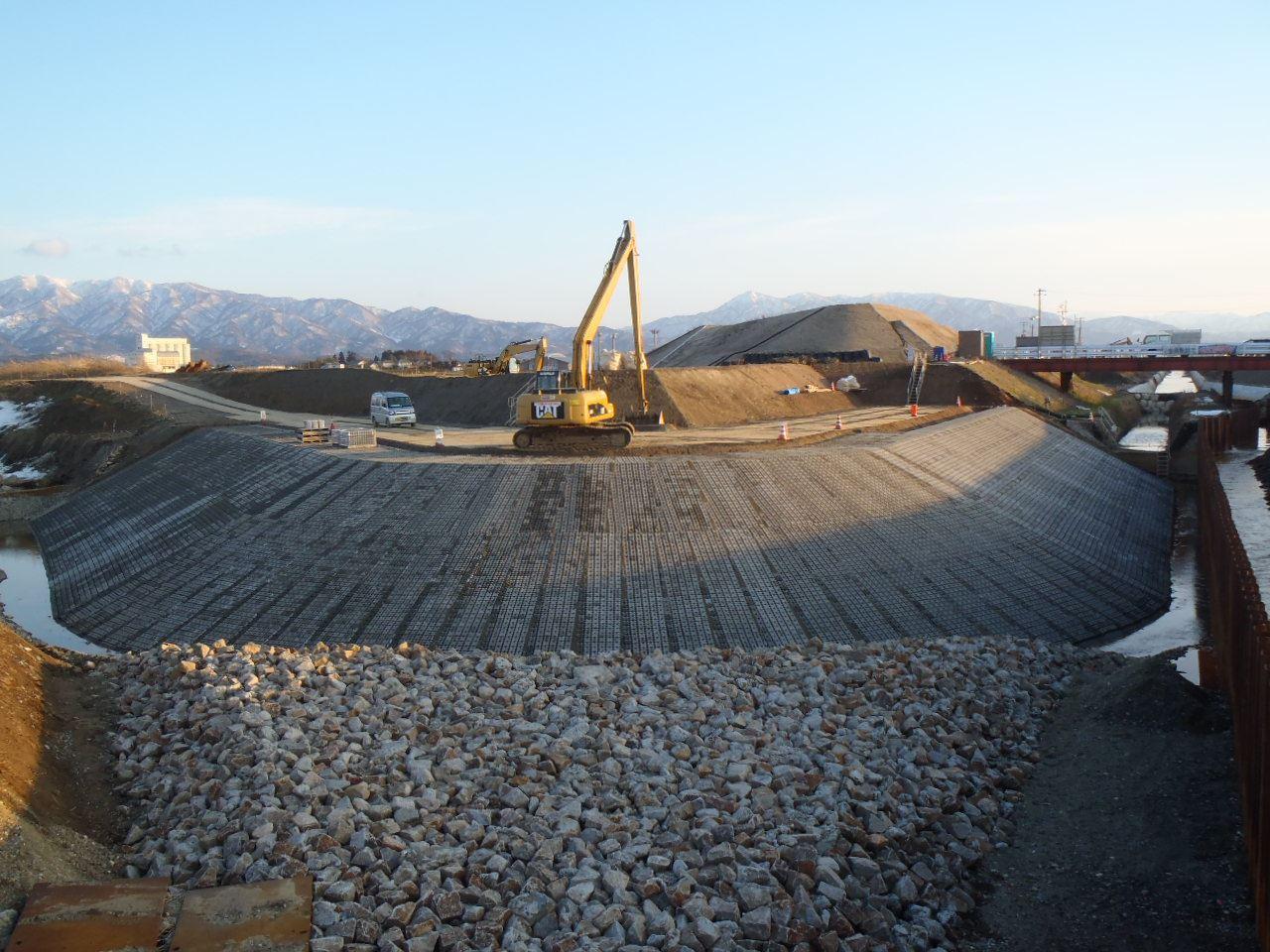 安野川5期地区 小里川排水路第10次工事