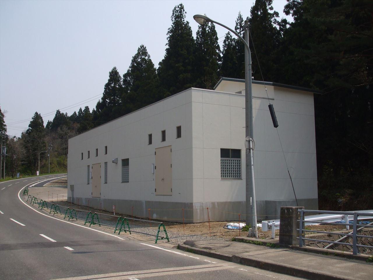 南部浄水場新築工事(阿賀町)