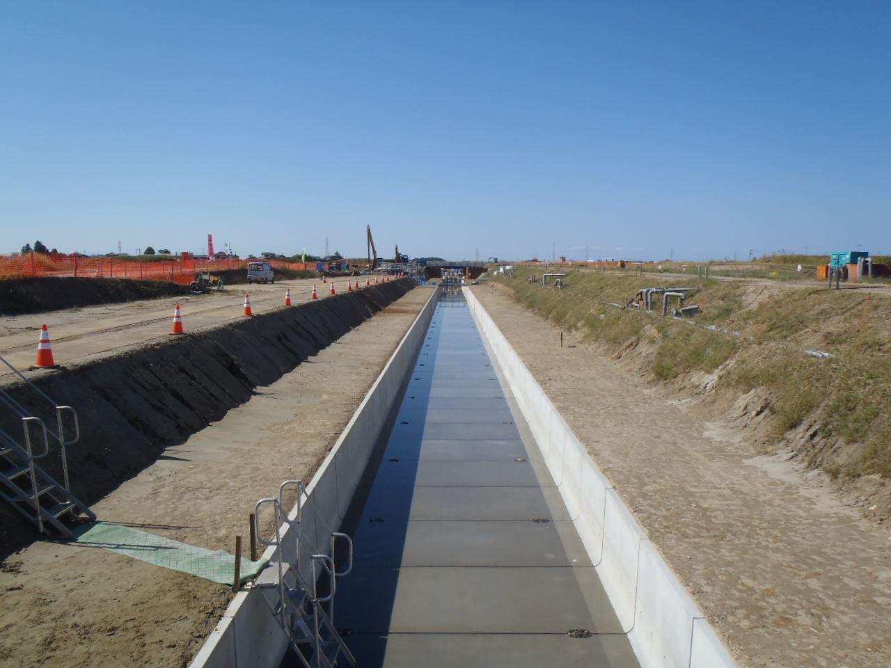 小里川排水路第26次工事